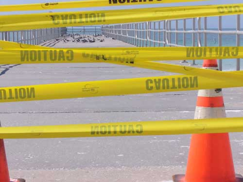 Anna Maria Islander: Manatee Public Beach pier closed indefinitely