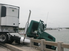 Anna Maria Islander: Crash closes Cortez Bridge