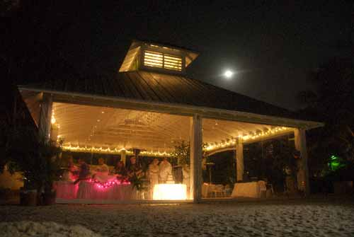 The Newly Constructed Pavilion At Sandbar Restaurant In Anna Maria Is Hosting Outdoor Weddings Part Of An On Going Renovation Project