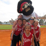 Softball fun for charity at Birdie Tebbetts Field