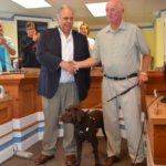 Lodge leader lauded at city hall