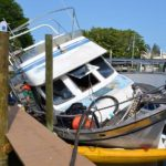 Key Royale neighbors miffed over derelict boat, fuel spill