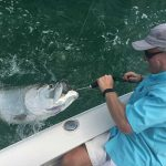 Fishing inshore and near as hot as temps
