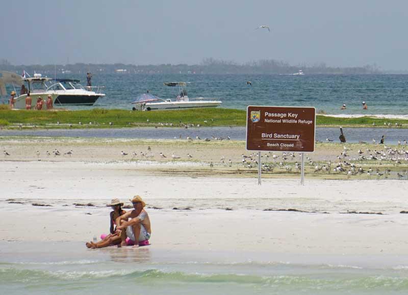 Passage Key attracts boaters, nudists, refuge violators