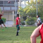 Playoffs underway in center adult flag football league