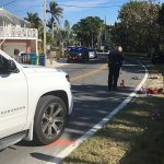Visitor dies from Gulf Drive crash