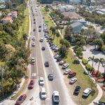 Barrier island traffic study solutions: paid parking, wayfinder