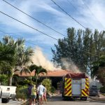 Fireworks blamed for Key Royale house fire