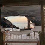 Tips lead to arrest of pier vandal