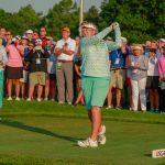 Island golf legend competes in women's open