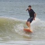 Michael moves surf on Anna Maria Island