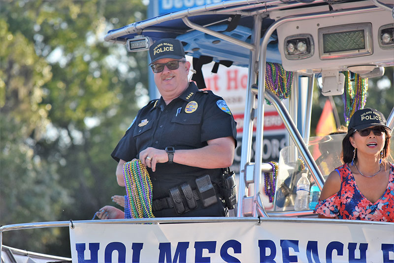 HB police chief credits military service as his foundation