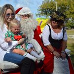 Privateers roll Santa's sleigh, pirate ship into Coquina Beach