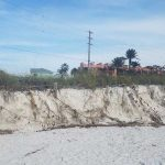 Beach washout evident, renourishment planned