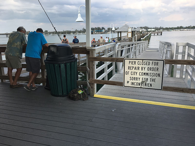 Bradenton Beach confronted by rising cost of floating dock