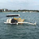 Copter flips in Sarasota Bay, 2 men rescued
