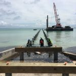 Anna Maria City Pier construction on track
