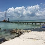 Icon set to install T-end deck at Anna Maria City Pier
