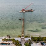 Contractor finalizes Anna Maria City Pier substructure, walkway up next