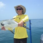 Fishing, temperature sizzle as AMI transitions to July