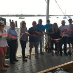 Bradenton Beach on deck for floating dock launch