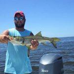 Freshwater still flowing into Gulf, fish still taking the hook