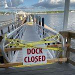 Bradenton Beach floating dock closes, gangway 'unsafe'