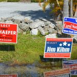 Signs go up, election season kicks off