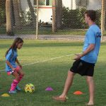 Youth, adult soccer action underway on center pitch