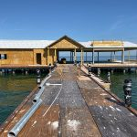 Contractor handles T-end conflict resolution at Anna Maria pier