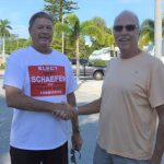 Schaefer elected, Hurst out in Holmes Beach
