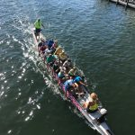 Paddlers from Paradise compete