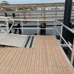Contractor fixes railings for Bradenton Beach floating dock, 1 fix to go