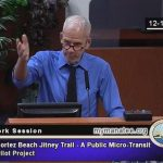 Jitney discussion leaves county board wanting more