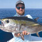 Mid-April fishing inshore, offshore runs hot, predators, too