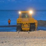 Beach renourishment off to successful start, patience required