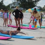 'Let's go surfin' now, everybody's learnin' how' at surf camp