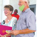 Church parade serves up fond farewells to Roser pastor and wife