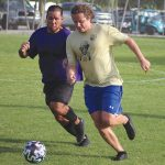 Center adult soccer continues, youth soccer rises on horizon