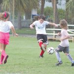 Youth soccer kicks off, adults benched by storm, power outage
