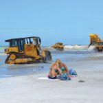 Hurricane Delta stalls beach renourishment