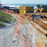 Beach renourishment holds for Hurricane Zeta