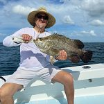 Fish offshore with calm winds, inshore when it whips up