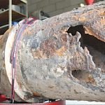 Report blames LBK sewage spill on log, pipe corrosion